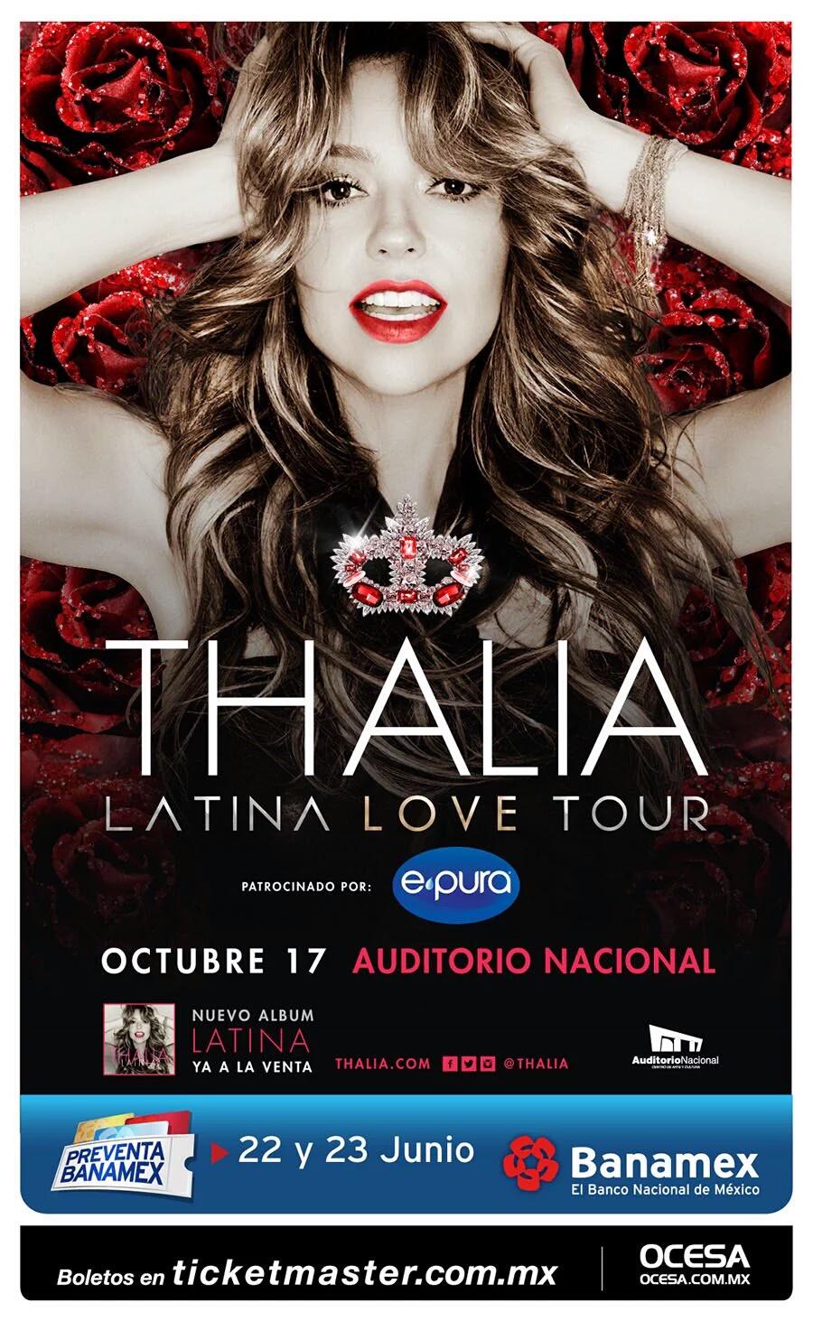 Thalia Auditorio Nacional 2016
