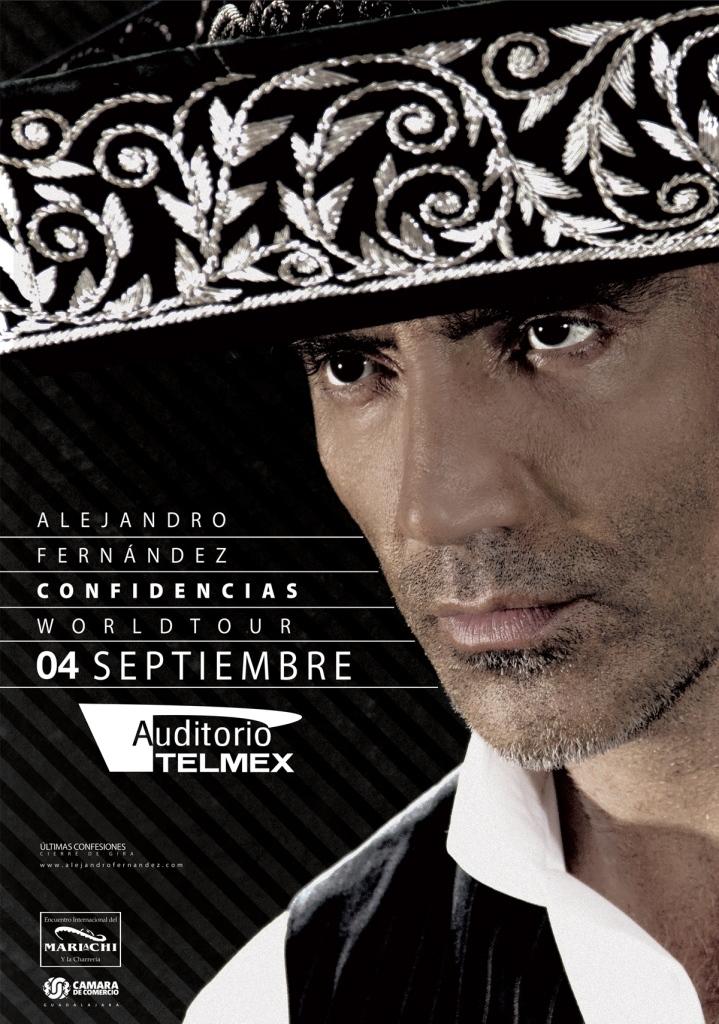 Alejandro Fernandez Encuentro Internacional del Mariachi 2016