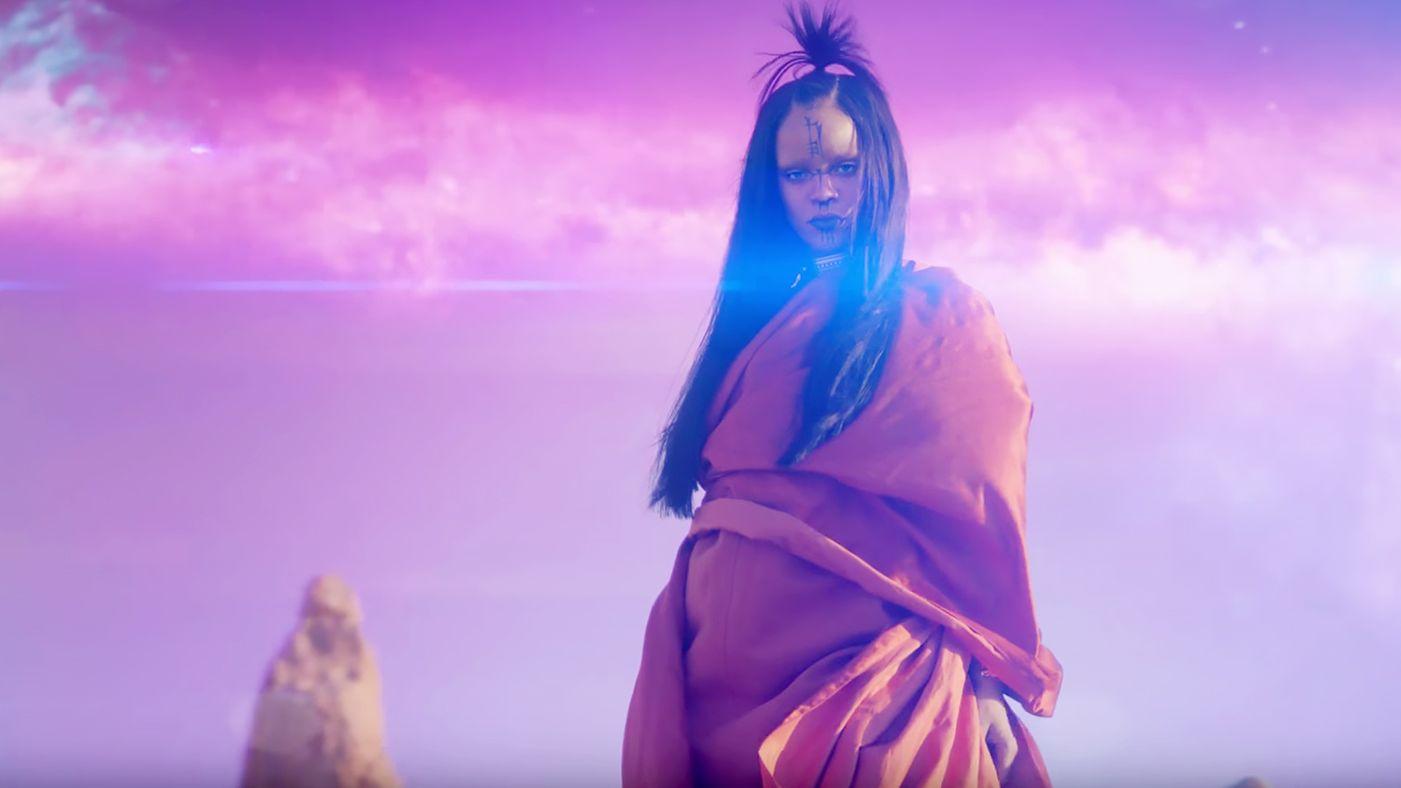 Rihanna Sledgehammer vídeo