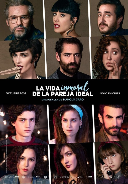 poster La vida inmoral de la pareja ideal poster