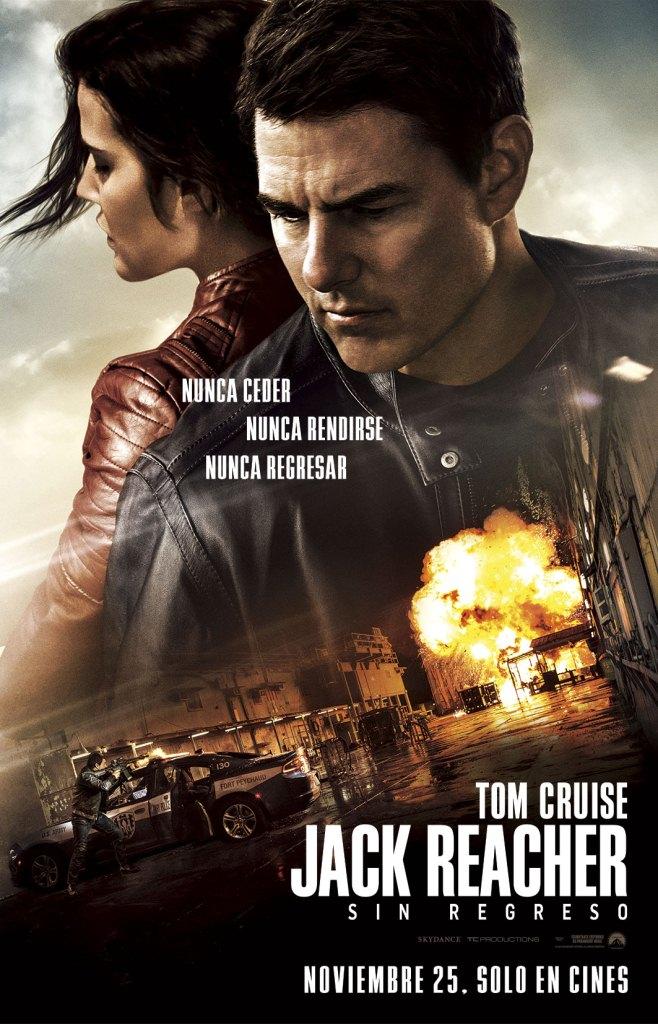 Jack Reacher Sin Regreso poster