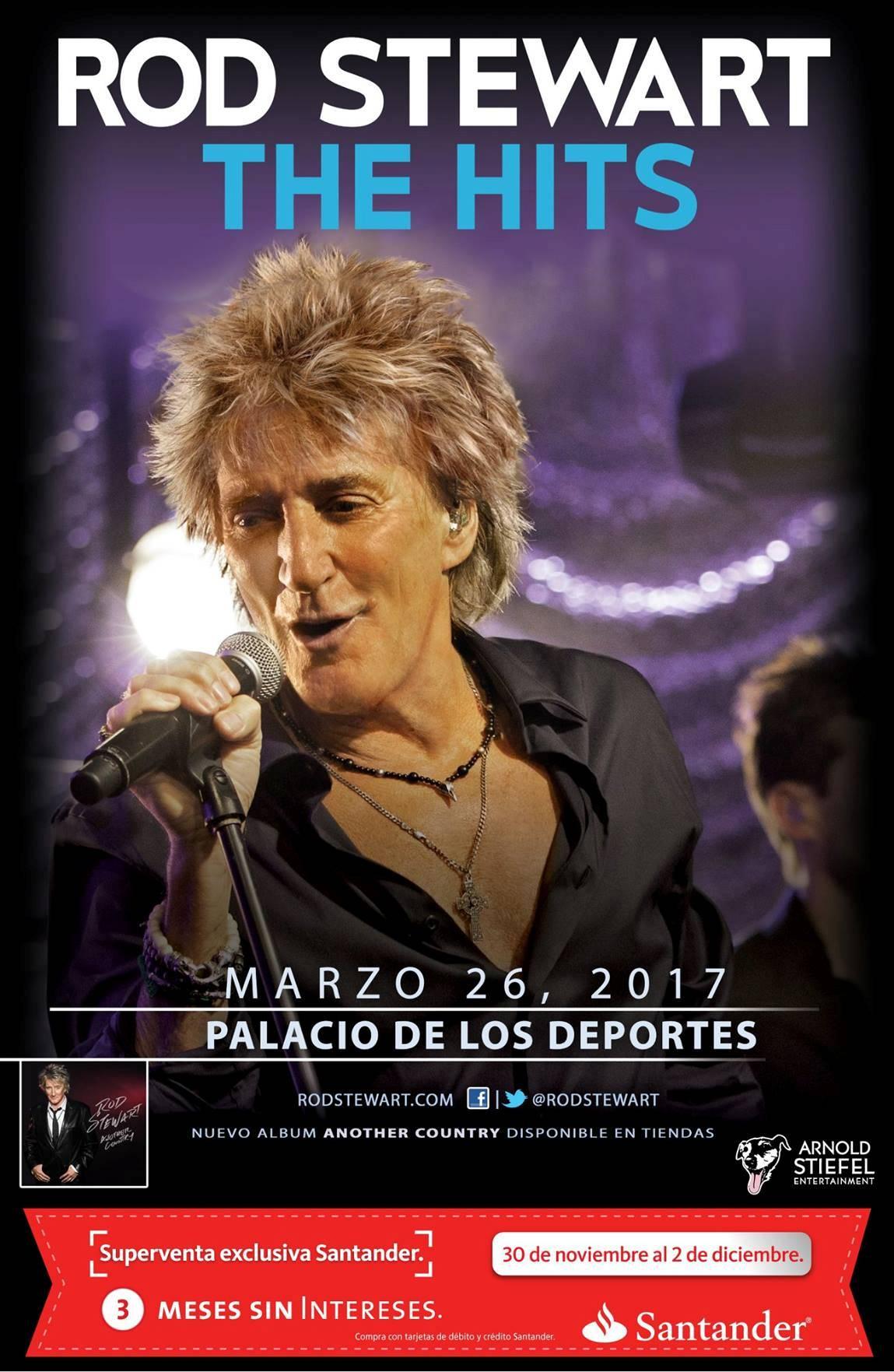 Rod Stewart Mexico 2017