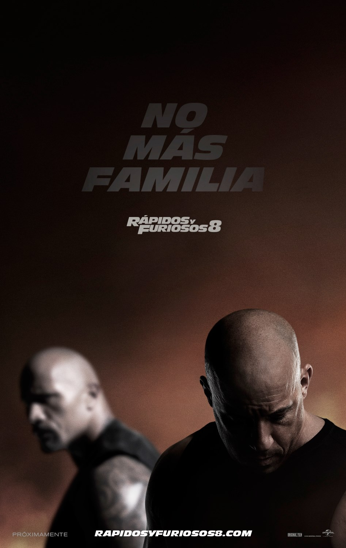 poster Rapidos y Furiosos 8