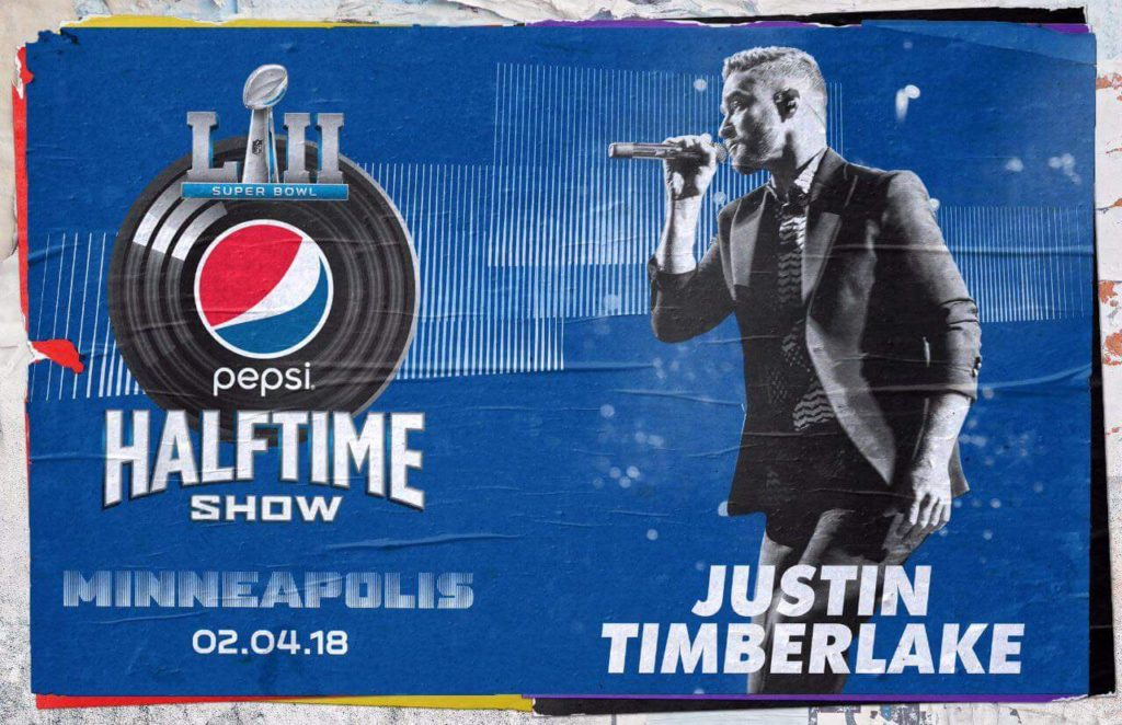 Justin Timberlake Super Bowl 52