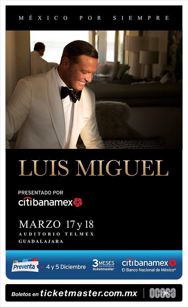 Luis Miguel Auditorio Telmex 2018