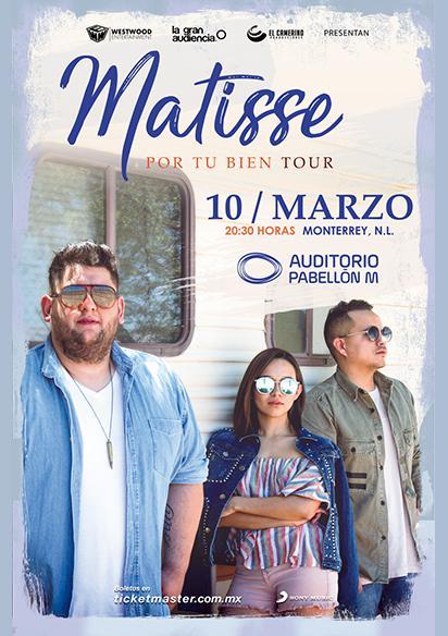 Matisse Auditorio Pabellon Monterrey