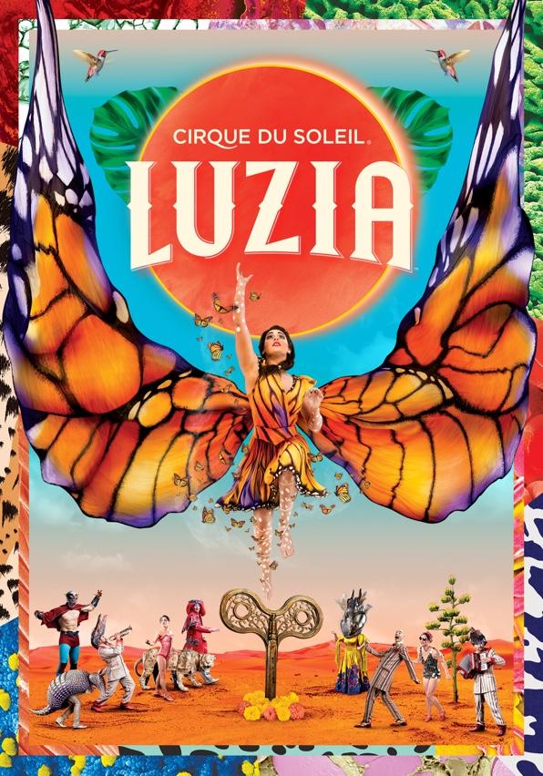 Cirque du Soleil LUZIA México