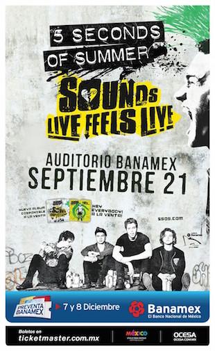 5 Seconds Of Summer Monterrey