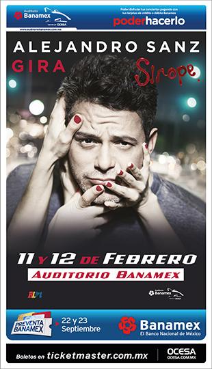 Alejandro Sanz Auditorio Banamex