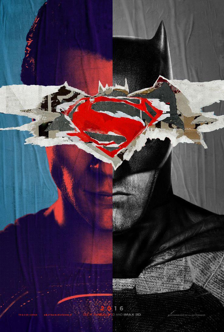 Batman vs Superma poster