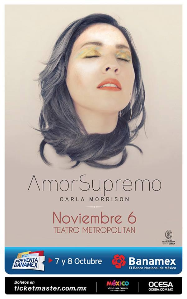 Carla Morrison Teatro Metropolitan