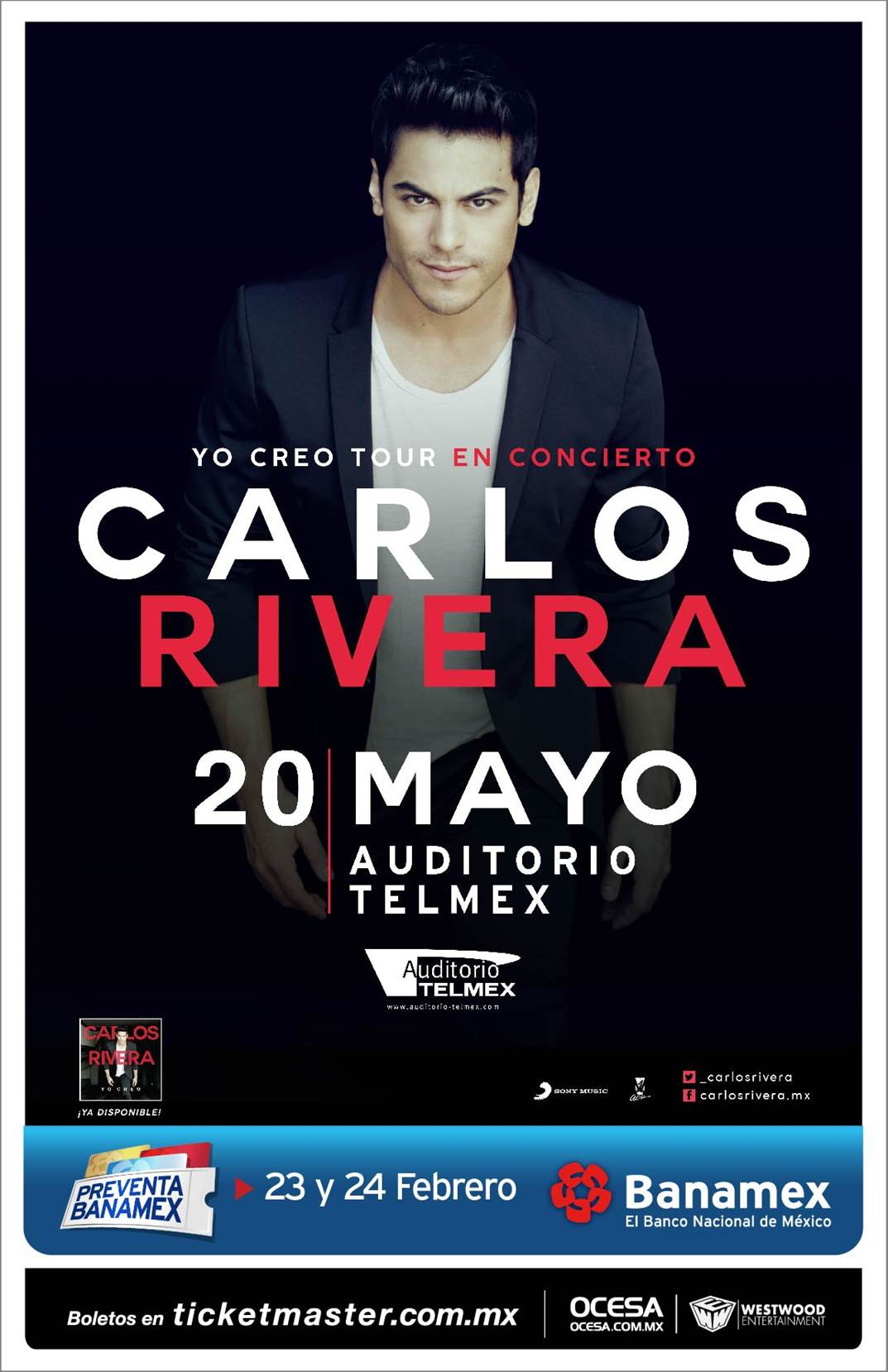 Carlos Rivera Auditorio Telmex