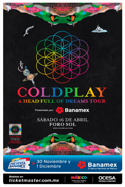 Coldplay Foro Sol
