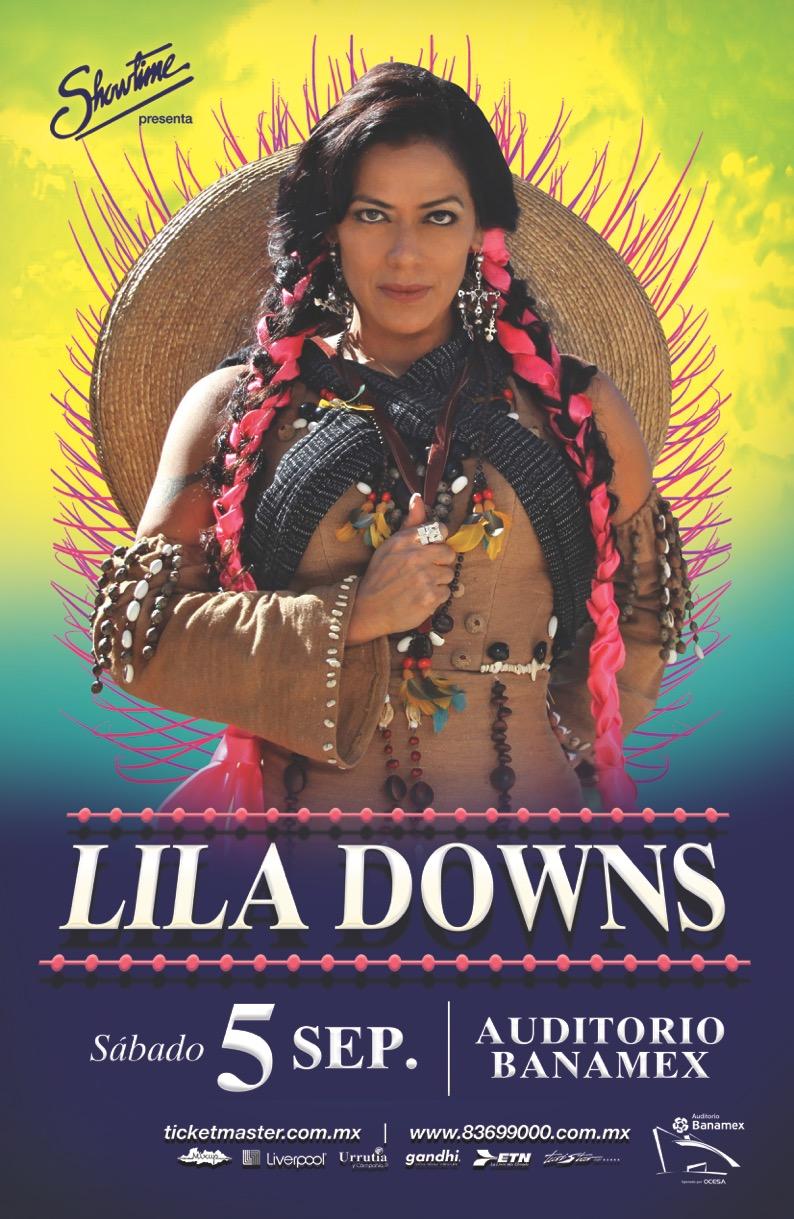 Tour Balas y Chocolate Lila Downs Auditorio Banamex
