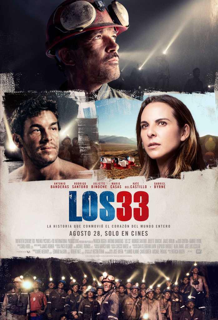 Los 33 poster