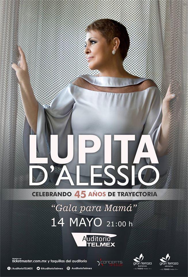 Lupita D'Alessio Auditorio Telmex 2016