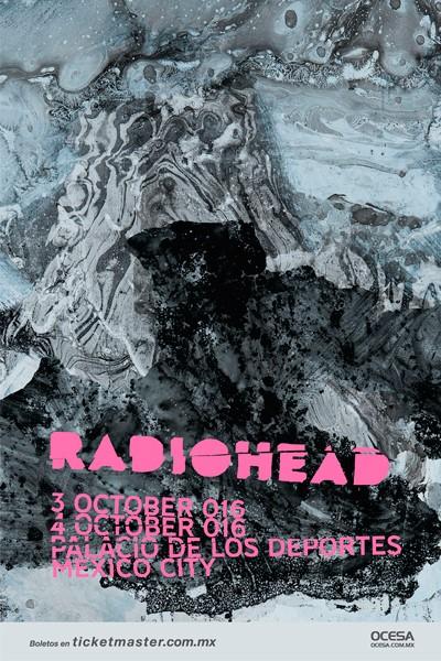Radiohead Palacio de los Deportes
