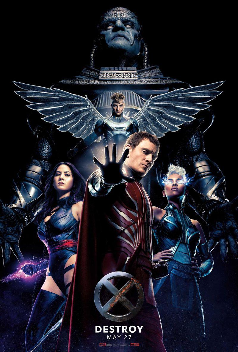 Cuatro Jinetes X MEN: Apocalipsis
