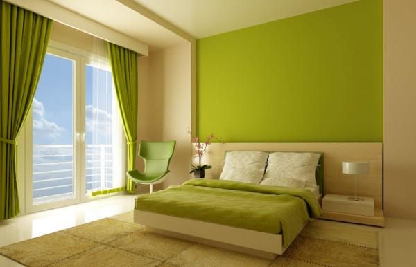 pintar casa verde