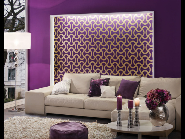 pintar casa violeta
